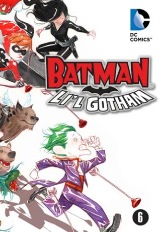 Bats-LilGotham-no6--cover1--ii