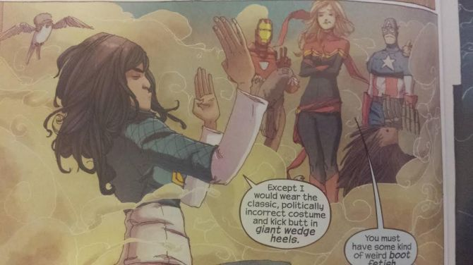 Ms Marvel Meets her heroes