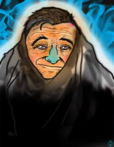 RobinWilliams-art-by JustinINVI