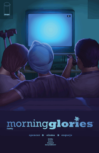 morning glories #40 cover