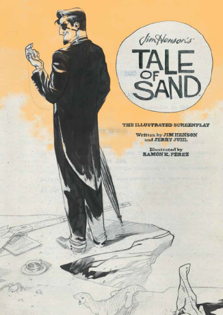TaleOfSand-IllustratedScreenplay--COVER
