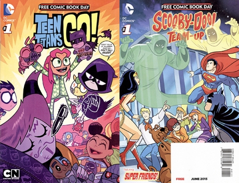Teen Titans GO and Scooby-Doo