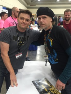 Shawn with Scott Snyder