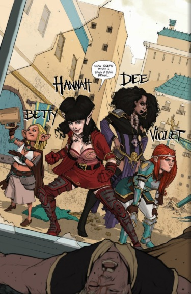 You An Exceptional Looking Oversized Black Hardcover Book With A Silver Foil Stamped Rat Queens Logo On The Cover Deluxe Volume 1