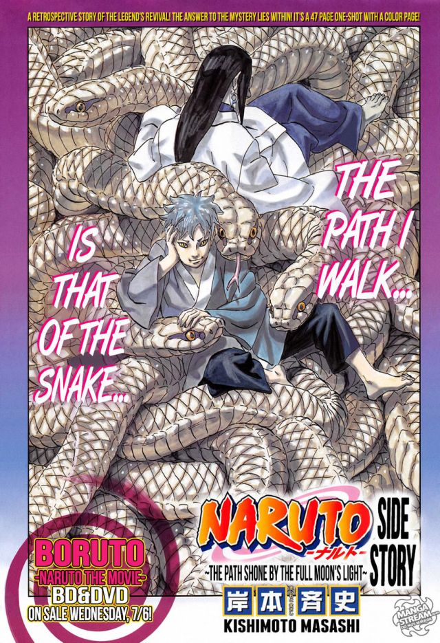 Review Naruto Gaiden The Path Shone By The Full Moons Light Bag
